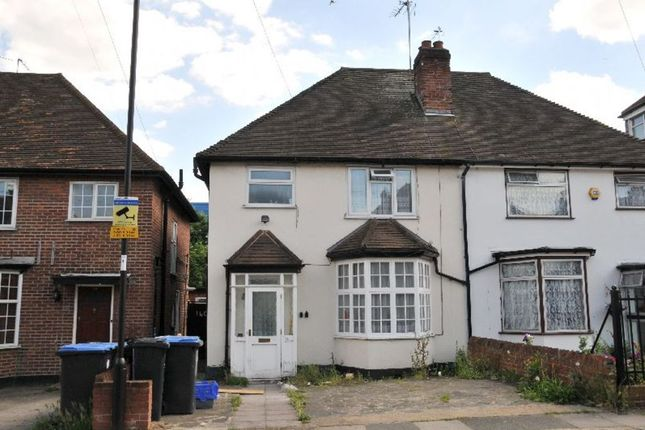Thumbnail Semi-detached house for sale in Mitchell Road, Palmers Green, London