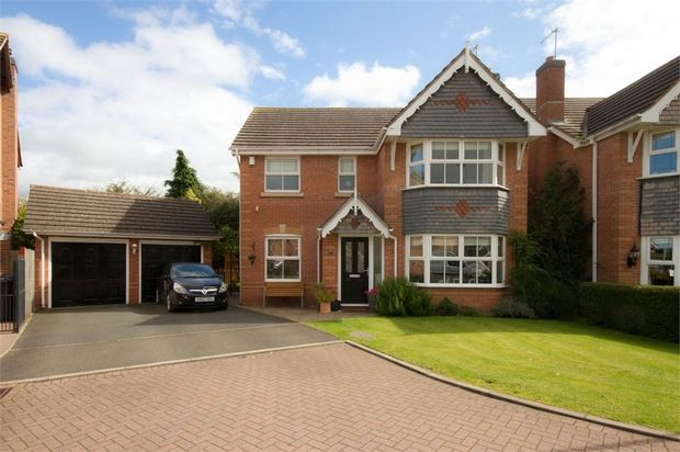Thumbnail Detached house for sale in Gregorys Green, Coven, Wolverhampton, Staffordshire
