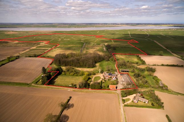 Thumbnail Farm for sale in Market Road, Bradwell, Great Yarmouth