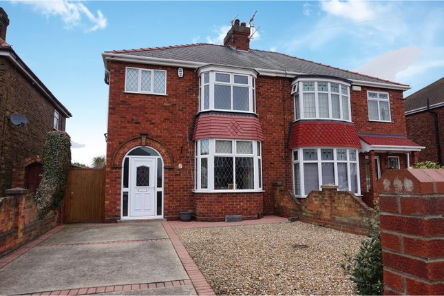 Thumbnail Semi-detached house for sale in Queen Mary Avenue, Cleethorpes
