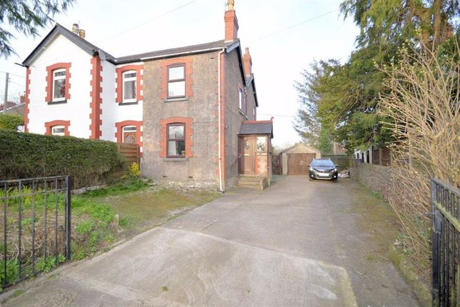 Thumbnail Semi-detached house for sale in Caerwys Hill, Caerwys Mold, Flintshire