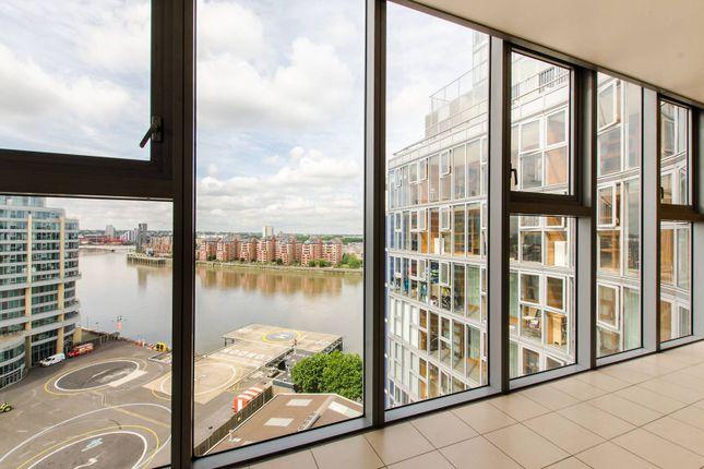 Thumbnail Flat to rent in Falcon Wharf, Battersea, London