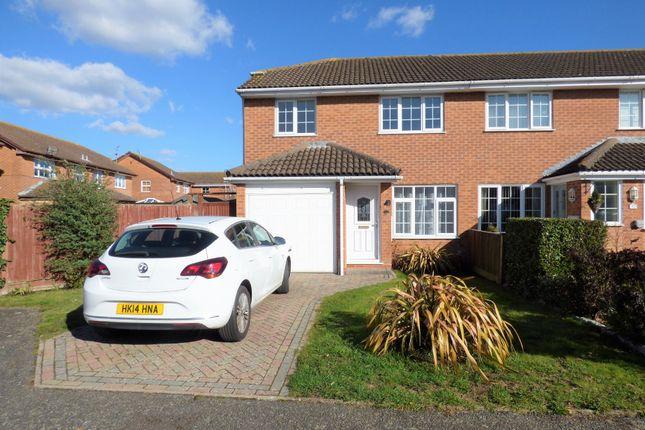 Thumbnail 3 bed semi-detached house to rent in Falcon Gardens, Wick, Littlehampton