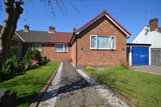 Thumbnail Semi-detached bungalow for sale in Larchwood Road, Woking