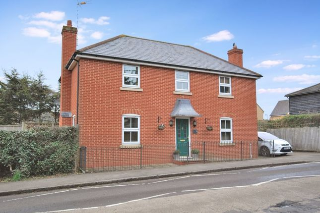 Thumbnail Detached house for sale in Main Road, Great Leighs, Chelmsford