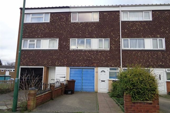 Thumbnail Town house to rent in Waveney Croft, Smiths Wood, Birmingham