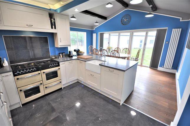 Thumbnail Detached bungalow for sale in The Crescent, Freckleton, Preston, Lancashire
