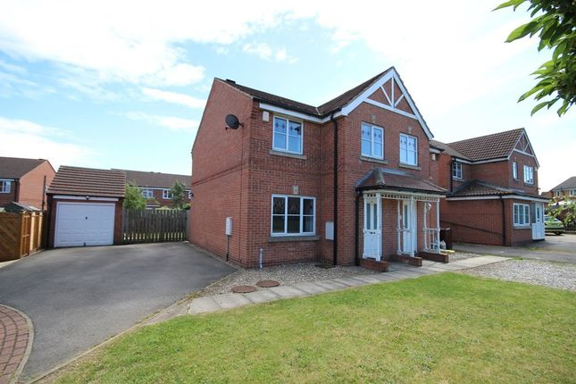 Thumbnail Semi-detached house to rent in Bramham Park Court, Leeds