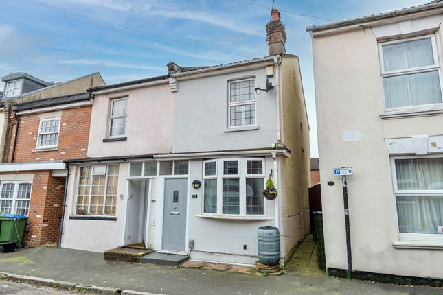Thumbnail End terrace house for sale in Dover Street, Inner Avenue, Southampton