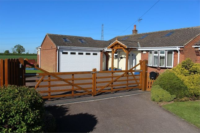 Thumbnail Detached bungalow for sale in The Mews, Blenheim Crescent, Broughton A, Leicester