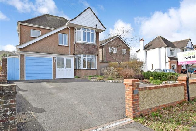 Thumbnail Detached house for sale in Findon Road, Findon Valley, West Sussex