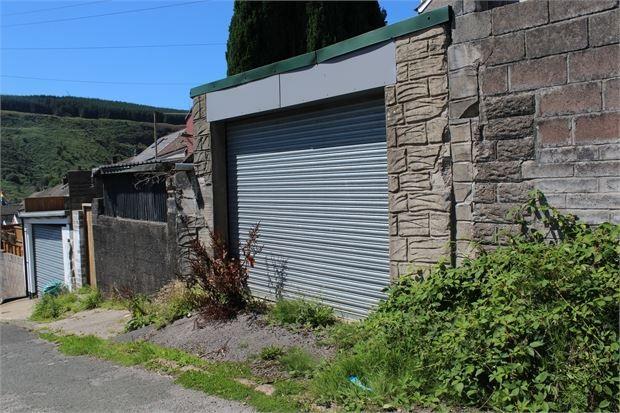 Garage of Pleasant Terrace, Tonypandy, Tonypandy, Rct. CF40
