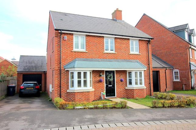 Thumbnail Detached house for sale in Kingfisher Road, Wixams, Bedfordshire