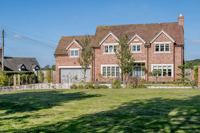 Thumbnail Detached house for sale in Seighford, Stafford, Staffordshire