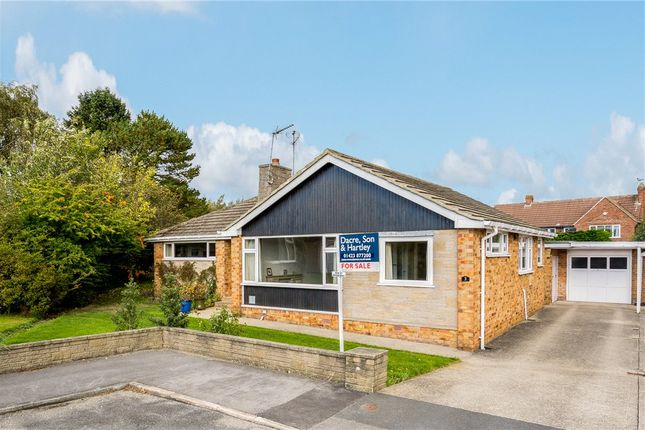 Thumbnail Detached bungalow for sale in Firs View, Harrogate, North Yorkshire