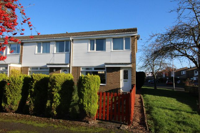 Thumbnail End terrace house for sale in Welburn Close, Ovingham, Prudhoe, Northumberland