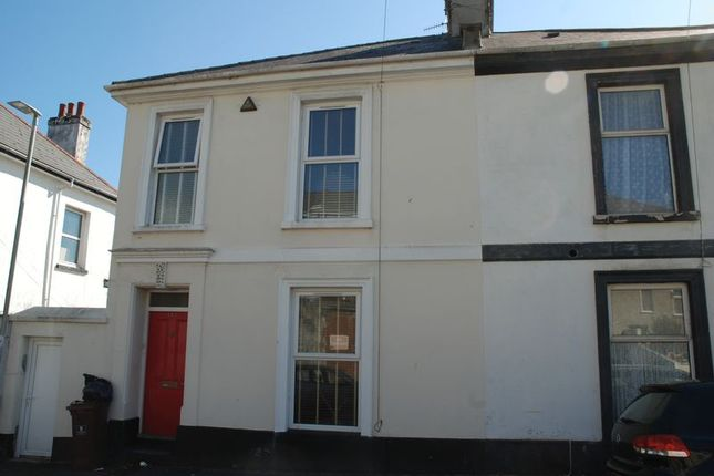 Thumbnail End terrace house to rent in Alexandra Road, Ford, Plymouth