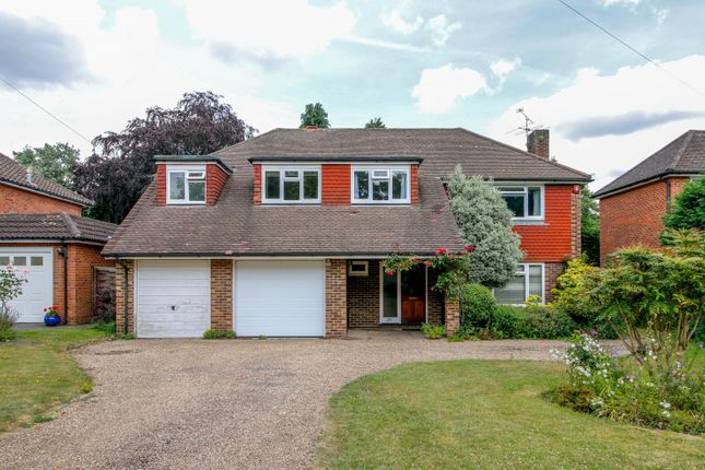 Thumbnail Detached house for sale in Hacketts Lane, Pyrford, Woking