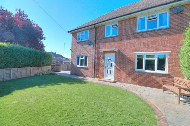 Thumbnail Semi-detached house for sale in Clun Road, Wick, Littlehampton