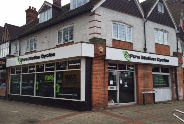 Thumbnail Retail premises to let in Old Woking Road, West Byfleet