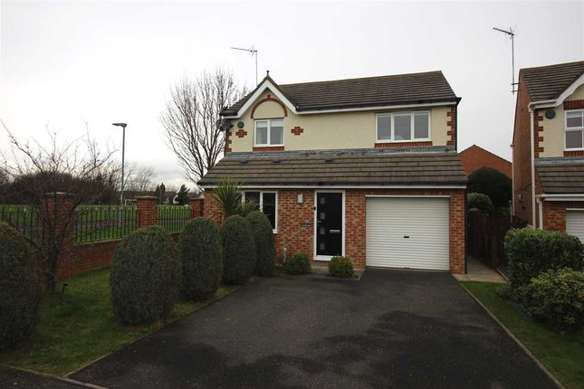 Thumbnail Detached house to rent in Langton Drive, Northburn Edge, Cramlington