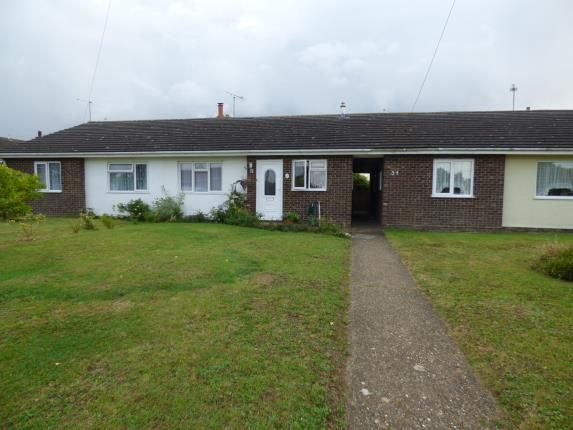 Thumbnail Bungalow for sale in Bacton, Stowmarket, Suffolk