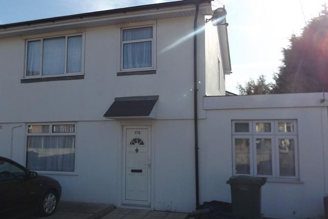 Thumbnail Semi-detached house to rent in Halcot Avenue, Bexleyheath, Kent