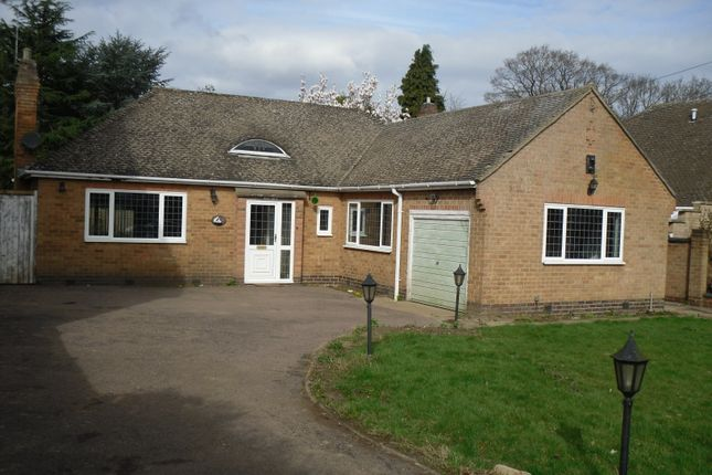 Thumbnail Bungalow to rent in The Broadway, Oadby