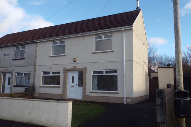 3 bed semi-detached house for sale in Maesgwern, Tumble, Llanelli