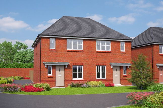 Thumbnail Semi-detached house for sale in Cromwell Road, Cheshire