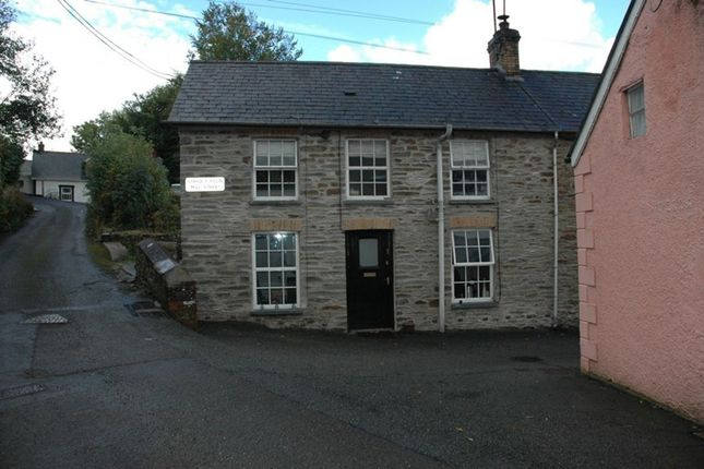Thumbnail Cottage to rent in Mill Street, Aberarad, Newcastle Emlyn