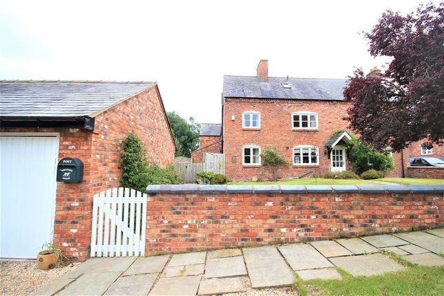 Thumbnail Semi-detached house for sale in Hanmer, Whitchurch