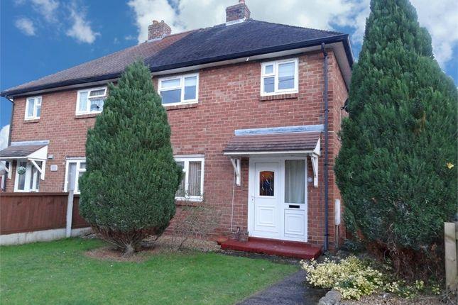 Thumbnail Semi-detached house for sale in Glebelands, Shawbury, Shrewsbury, Shropshire