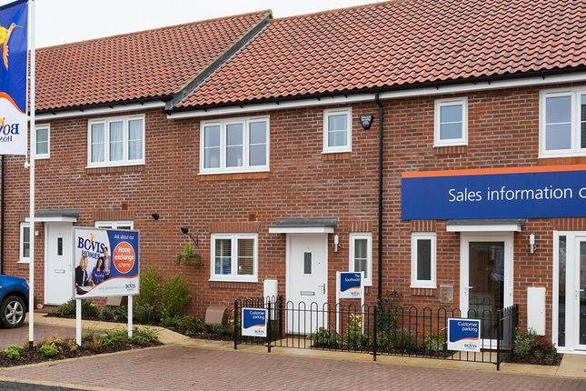 "Thumbnail Terraced house for sale in ""The Southwold"" at Fordham Road, Soham, Ely"