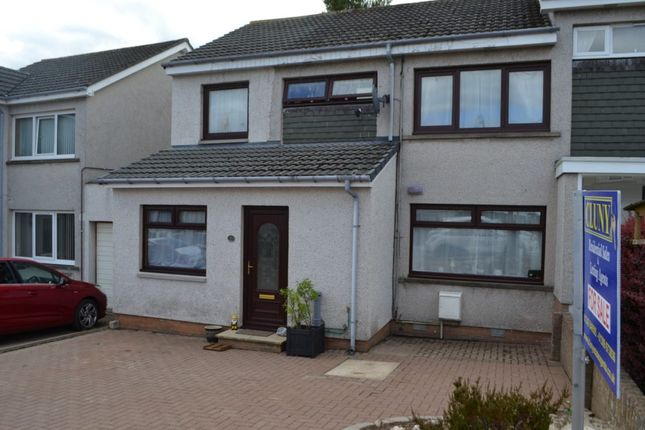 Thumbnail End terrace house for sale in Woodlands Crescent, Bishopmill, Elgin