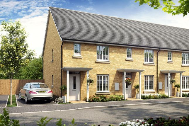 """Thumbnail Terraced house for sale in """"Hamdon"""" at Great Mead, Yeovil"""