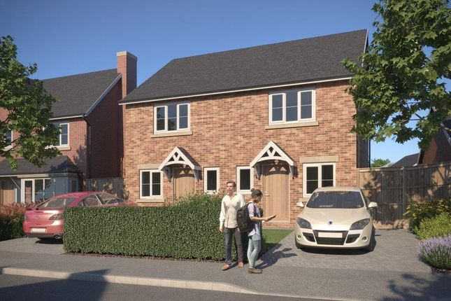 Thumbnail Semi-detached house for sale in Weston Fields, Morda, Oswestry