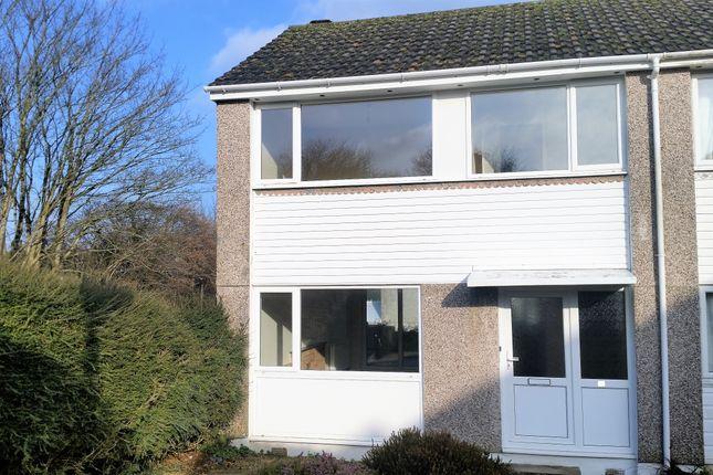 Thumbnail End terrace house to rent in Rapson Road, Liskeard