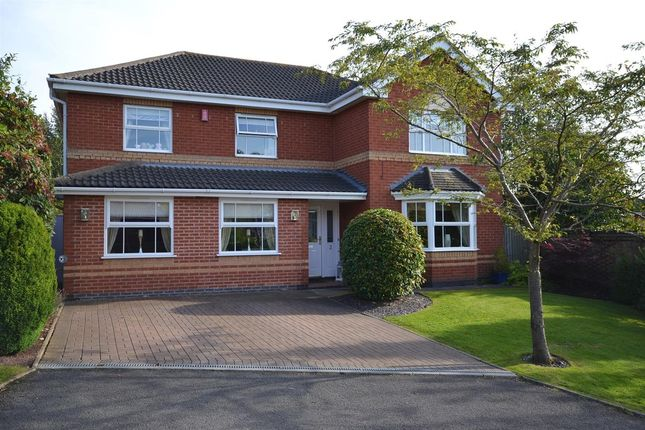 Thumbnail Detached house to rent in Allthorpe Place, Newcastle-Under-Lyme