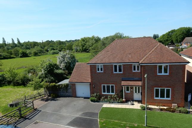 Thumbnail Detached house for sale in Sherrard Way, Mytchett, Camberley