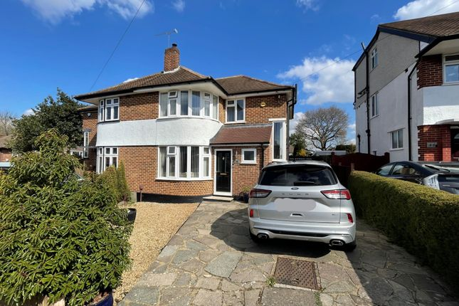 Thumbnail Semi-detached house for sale in Broadcroft Road, Petts Wood, Orpington