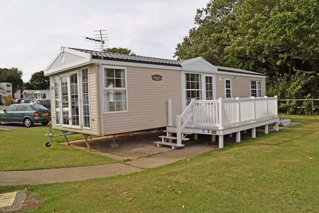 Thumbnail Mobile/park home for sale in Nodes Point Holiday Park, St Helens, Isle Of Wight