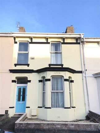 Thumbnail Terraced house to rent in St. Judes Road, Plymouth