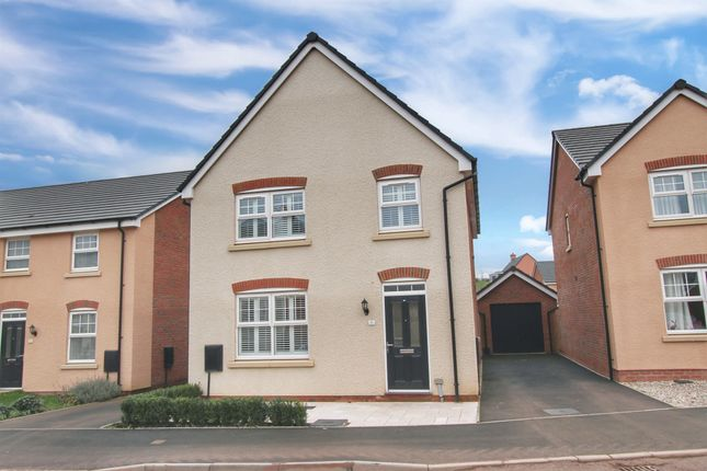 Thumbnail Detached house for sale in Ternata Drive, Kings Wood Gate, Monmouth
