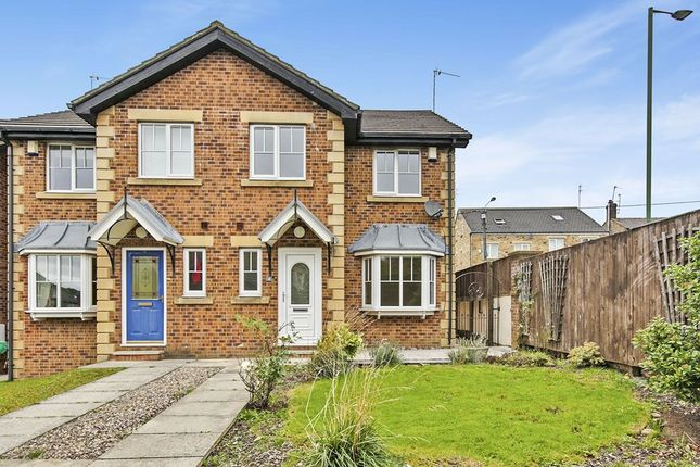 Thumbnail Semi-detached house to rent in Bells Wood Court, Consett