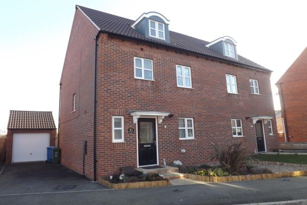 Thumbnail Semi-detached house to rent in Piper Close, Mansfield Woodhouse, Mansfield
