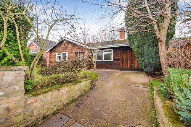 Thumbnail Detached bungalow for sale in First Avenue, Nottingham