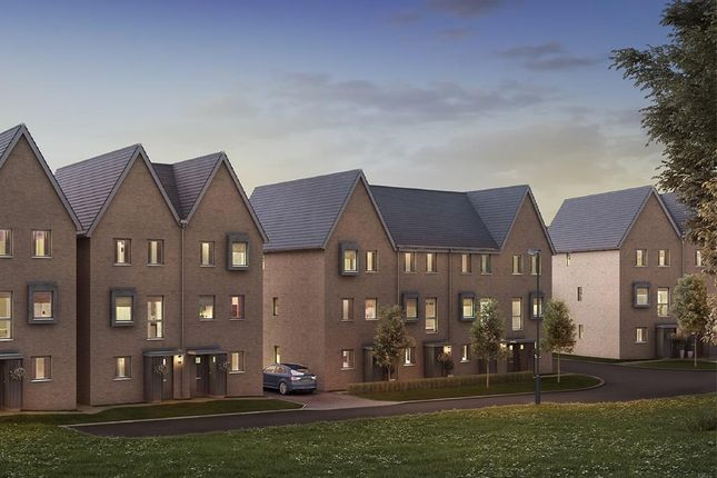 "Thumbnail Terraced house for sale in ""Peechtree"" at Divot Way, Basingstoke"