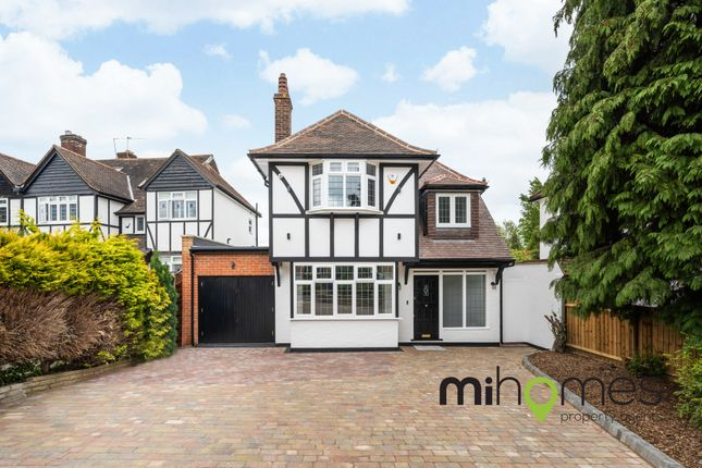 Thumbnail Detached house for sale in Bourne Avenue, The Meadway Estate, Southgate