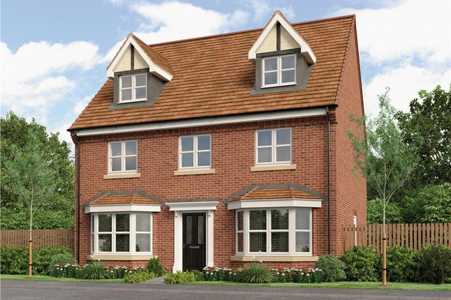 "Thumbnail Detached house for sale in ""Huxley"" at Gorsey Lane, Wythall, Birmingham"